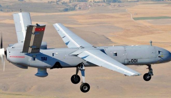 Η πρώτη αναχαίτιση τουρκικού UAV Drone από ελληνικά F-16 στο ελληνικό FIR