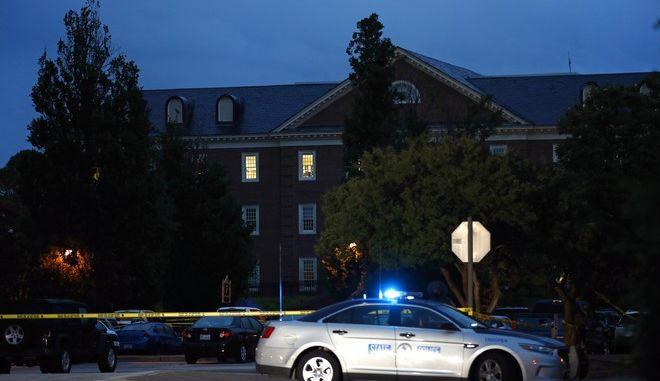 Το δημοτικό κτίριο στη Βιρτζίνια Μπιτς όπου εκδηλώθηκε η επίθεση από ένοπλο