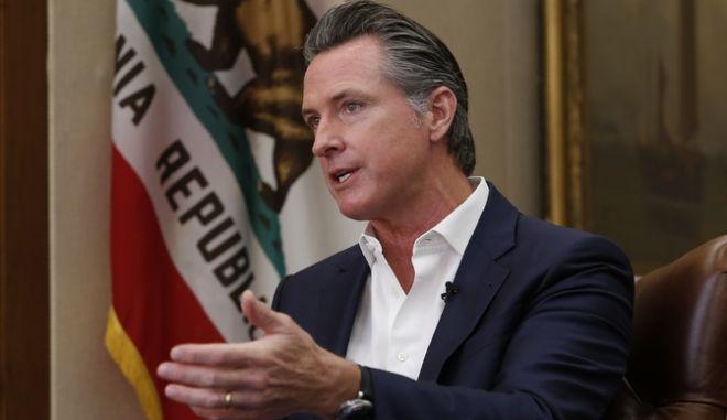 O κυβερνήτης της Καλιφόρνια