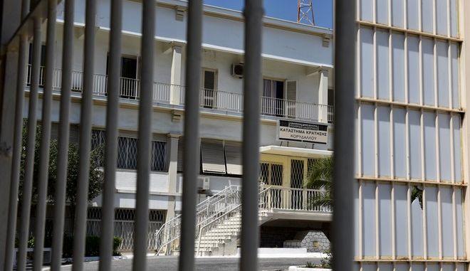 Στιγμιότυπo από τις δικαστικές φυλακές του Κορυδαλλού