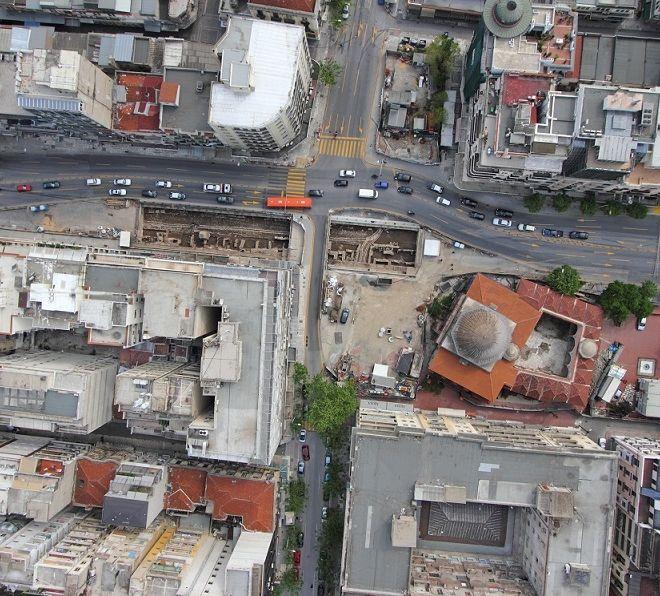 Στο φως μία ολόκληρη πόλη κάτω από την Θεσσαλονίκη
