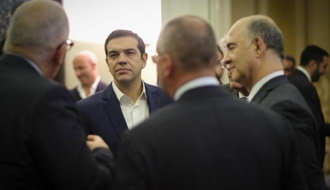 Ο πρωθυπουργός, Αλέξης Τσίπρας, επισκέφθηκε την Πορτογαλία, την Παρασκευή και το Σάββατο, 2 Δεκεμβρίου 2017, προκειμένου να συμμετάσχει ως παρατηρητής στην προπαρασκευαστική συνάντηση των αρχηγών κρατών και ηγετών που μετέχουν στο Ευρωπαϊκό Σοσιαλιστικό Κόμμα, εν όψει του Ευρωπαϊκού Συμβουλίου στα μέσα Δεκεμβρίου. (EUROKINISSI/ΓΡΑΦΕΙΟ ΤΥΠΟΥ ΠΡΩΘΥΠΟΥΡΓΟΥ/ANDREA BONETTI)