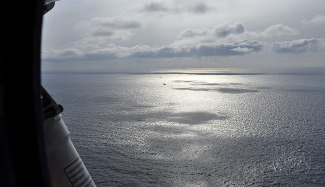 Η θάλασσα του Οκότσκ όπου βρισκόταν το ιαπωνικό νησί που εξαφανίστηκε