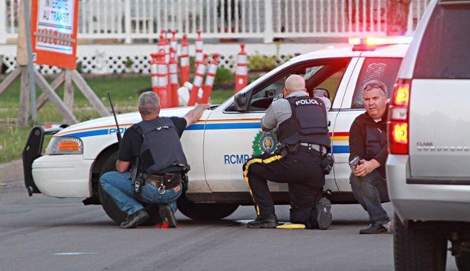 Αστυνομικοί στον Καναδά (Φωτογραφία αρχείου)