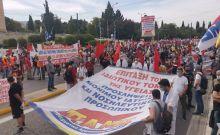 Στο δρόμο για την υπεράσπιση του 8ωρου - Μαζικές συγκεντρώσεις στην Αθήνα