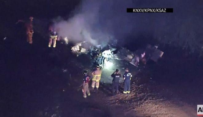 Αριζόνα: Αεροπλάνο έπεσε σε γήπεδο γκολφ - Έξι νεκροί