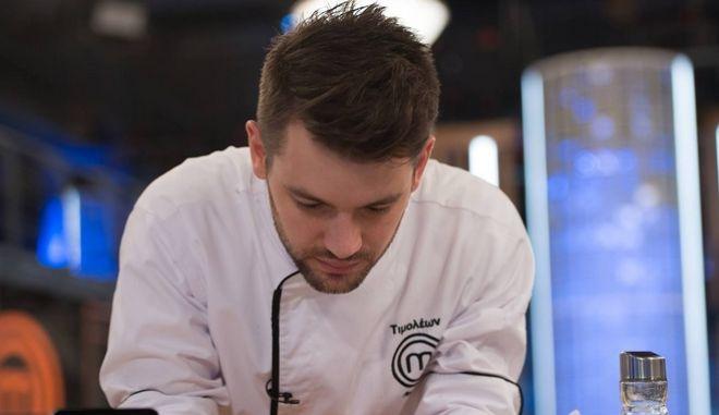 Ο Τιμολέων Διαμαντής στον τελικό του Master Chef
