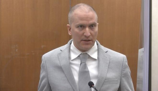 Δίκη για τη δολοφονία Φλόιντ: 22,5 χρόνια φυλάκιση στον Ντέρεκ Σόβιν