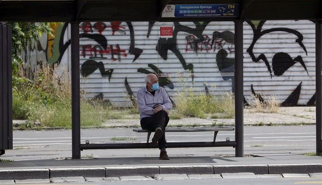 Εικόνα από το Βελιγράδι σε καιρό κορονοϊού