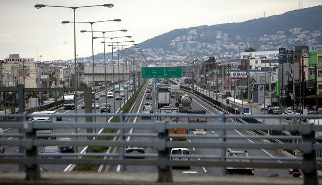 Κίνηση στην Ε.Ο. Αθηνών - Λαμίας την Μεγ. Πέμπτη 17 Απριλίου 2014. (EUROKINISSI/ΓΕΩΡΓΙΑ ΠΑΝΑΓΟΠΟΥΛΟΥ)