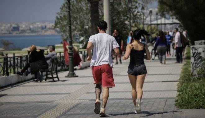 Τρέξιμο κατά τη διάρκεια της καραντίνας