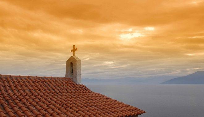 Εικόνα από τον ιερό Ναό του Αγίου Νικολάου στο Ναύπλιο