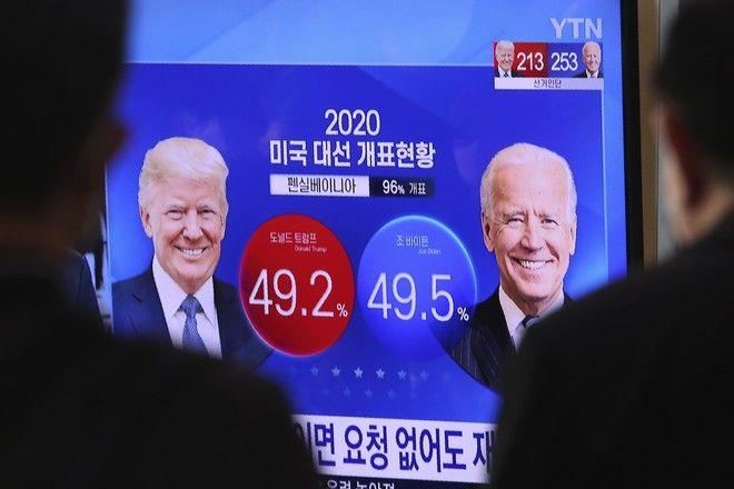 Στιγμιότυπο από τις Αμερικανικές εκλογές