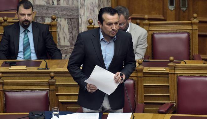 Συζήτηση επίακιρων ερωτήσεων στην Βουλή την Παρασκευή 23 Ιουνίου 2017. (EUROKINISSI/ΤΑΤΙΑΝΑ ΜΠΟΛΑΡΗ)