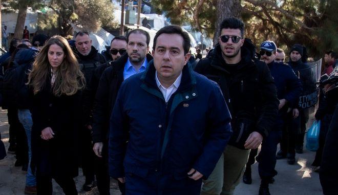 Ο υπουργός Μετανάστευσης και Ασύλου Νότης Μηταράκης