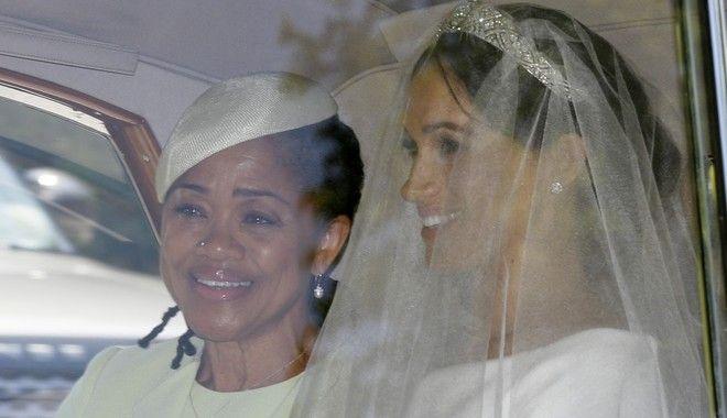 Η Μέγκαν Μαρκλ με την μητέρα της