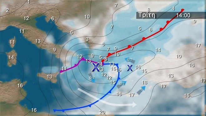 Υψηλές θερμοκρασίες έως την Καθαρά Δευτέρα – Πτώση θερμοκρασίας κατά 6-8 βαθμούς και βροχές από Τρίτη