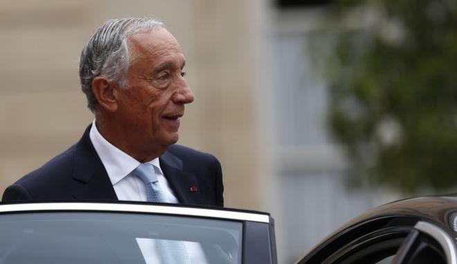 Ο Πορτογάλος πρόεδρος Μαρσέλο Ρεμπέλο ντε Σόουζα