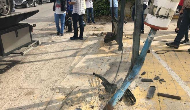 Τροχαίο δυστύχημα στη Μεταμόρφωση: Εξετάζεται μαρτυρία για εμπλοκή άλλου οχήματος