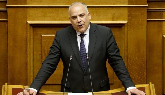 Ο ανεξάρτητος βουλευτής Γιάννης Σαρίδης