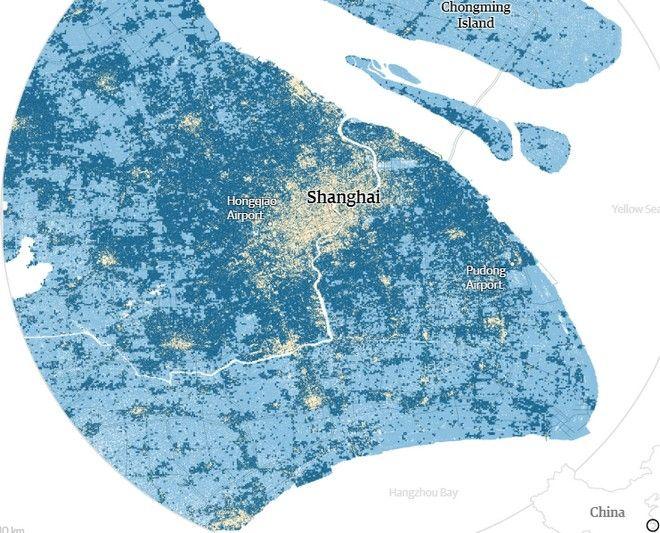Επανασχεδίαση του παγκόσμιου χάρτη: Ποιες πόλεις θα πνιγούν από την υπερθέρμανση του πλανήτη