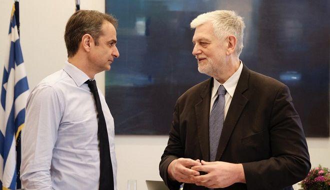 Ο δημοσιογράφος Γιάννης Λοβέρδος υποψήφιος με τη ΝΔ στο Δυτικό Τομέα