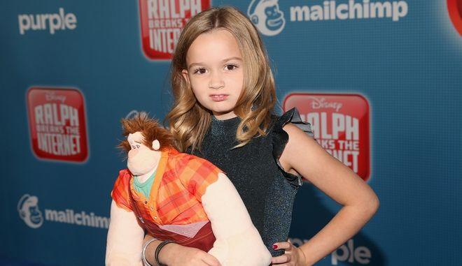 """H Chloe Clem στην πρεμιέρα της ταινίας """"Ralph breaks the internet"""""""
