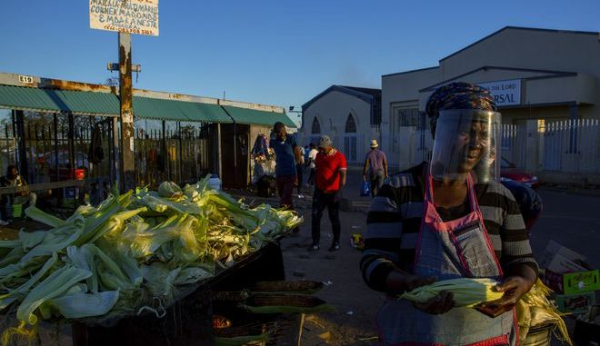 Εικόνα από τη Νότια Αφρική σε καιρό πανδημίας κορονοϊού