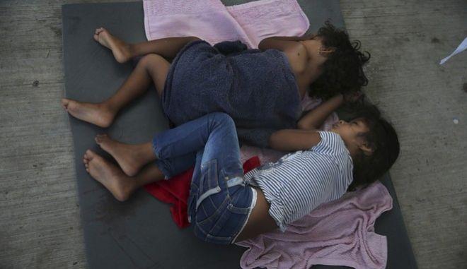 Παιδιά μετανάστες στο Μεξικό