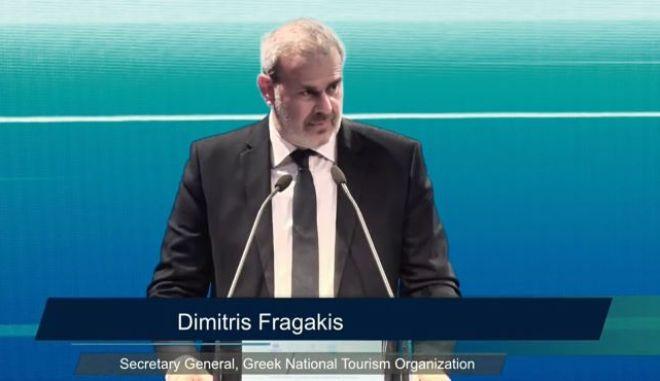 Ο γενικός γραμματέας του ΕΟΤ, Δημήτρης Φραγκάκης