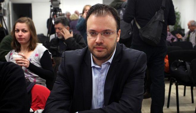 O πρόεδρος της ΔΗΜΑΡ Θανάσης Θεοχαρόπουλος
