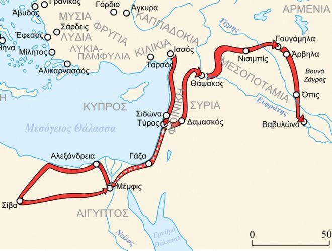 Μηχανή του Χρόνου: Η στρατηγική του Μ. Αλέξανδρου στα Γαυγάμηλα. Η μάχη που άλλαξε την ιστορία