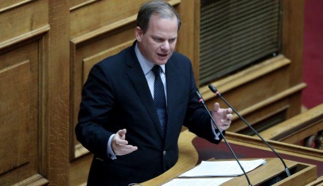 Ο υπουργός Μεταφορών Κώστας Καραμανλής