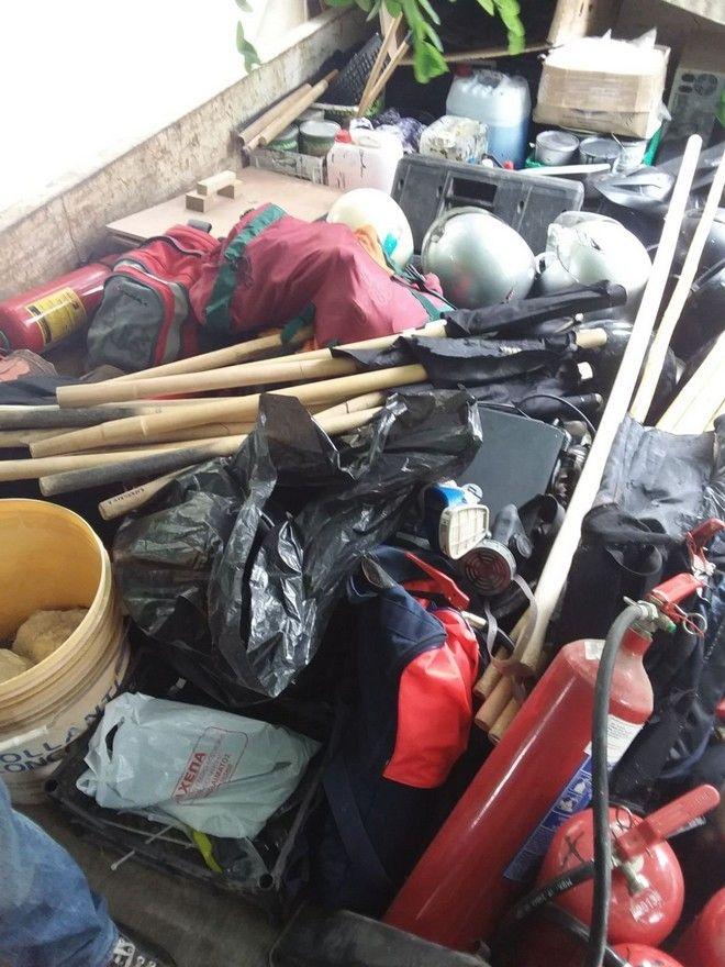 Θεσσαλονίκη: Τι βρήκαν οι αστυνομικοί στην κατάληψη