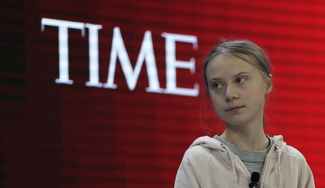 H Greta Thunberg στο Davos