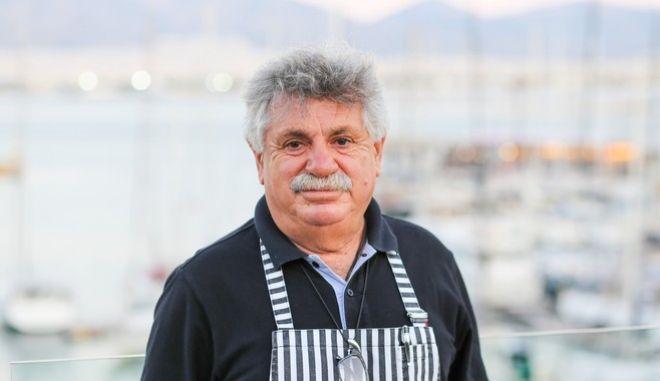 O σεφ, Λευτέρης Λαζάρου
