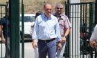 Ο Κυριάκος Βελόπουλος σε εκλογικό τμήμα