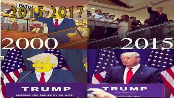 Trump/Simpsons