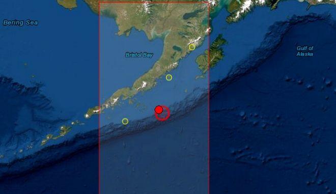 Σεισμός 7,8 ρίχτερ στην Αλάσκα - Προειδοποίηση για τσουνάμι