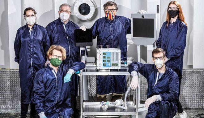 Μηχανικοί της NASA έφτιαξαν υπερσύγχρονο αναπνευστήρα μέσα σε 37 μέρες