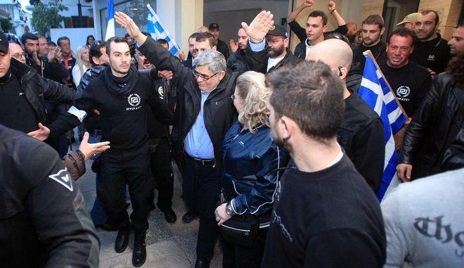 ΜΕΣΟΛΟΓΓΙ - ΕΓΚΑΙΝΕΙΑ ΓΡΑΦΕΙΟΥ ΧΡΥΣΗΣ ΑΥΓΗΣ (24-3-2013) (EUROKINISSI/ΣΥΝΕΡΓΑΤΗΣ)