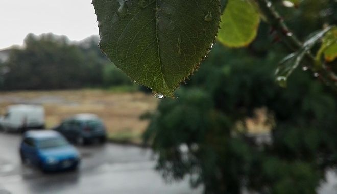 Βροχή στην πόλη των Τρικάλων