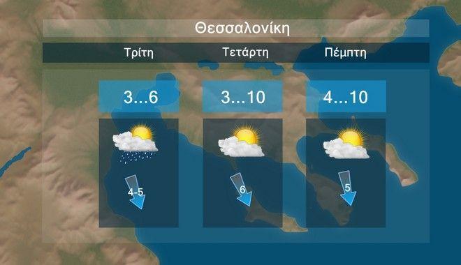Καιρός: Πολλές βροχές και χιόνια μέχρι τα μέσα της εβδομάδας