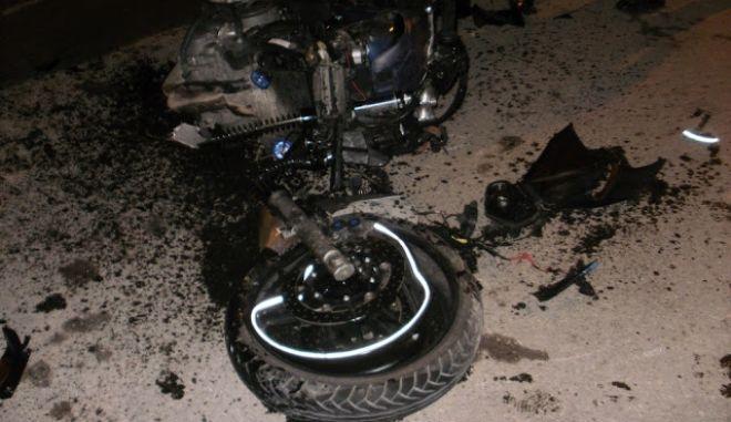 Θανατηφόρο τροχαίο στα Χανιά με θύμα 26χρονο μοτοσικλετιστή