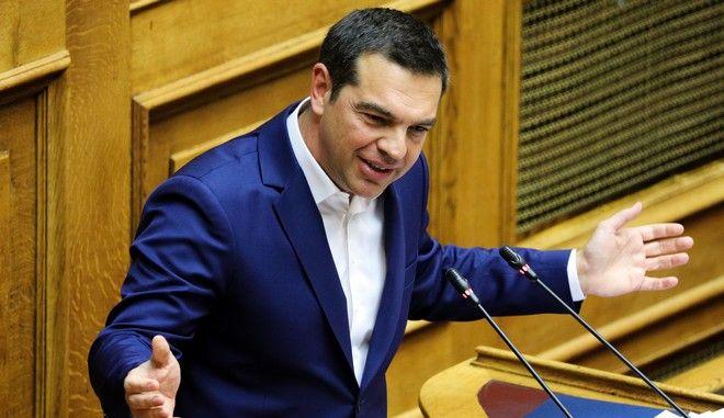 Συζήτηση και ψηφοφορία στην ολομέλεια της βουλής για την πρόταση του Πρωθυπουργού για ψήφο εμπιστοσύνης στην Κυβέρνηση