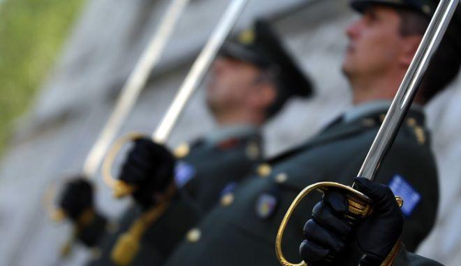 Αξιωματικοί του 5ου Συντάγματος Πεζικού