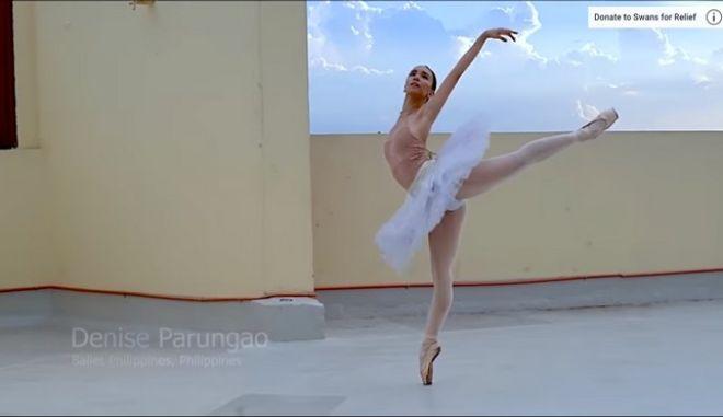 """Μπαλαρίνες απ' όλο τον κόσμο χορεύουν συνεισφέροντας στη """"μάχη"""" κατά του κορονοϊού"""