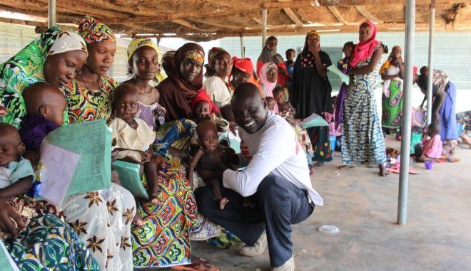 Από παιδί πρόσφυγας, στους Γιατρούς Χωρίς Σύνορα