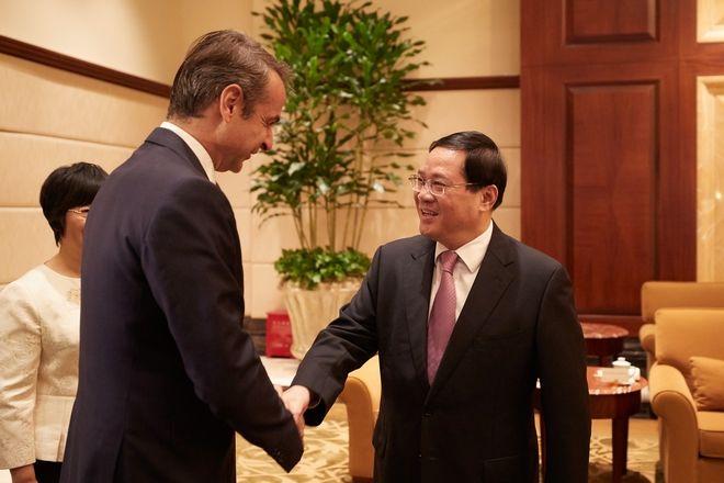 Επίσκεψη του Πρωθυπουργού Κυριάκου Μητσοτάκη στην Σαγκάη της Κίνας.