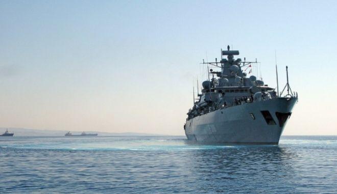 """Πλοίο της επιχείρησης """"Σοφία"""" στη Μεσόγειο"""